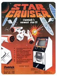 Advert for Star Cruiser on the Arcade.