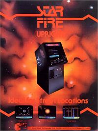 Advert for Star Fire on the Arcade.