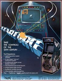 Advert for Star Force on the Arcade.