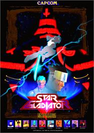 Advert for Star Gladiator on the Arcade.
