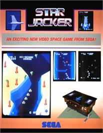 Advert for Star Jacker on the Arcade.