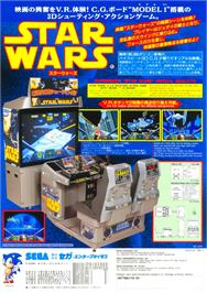 Advert for Star Wars Arcade on the Sega 32X.