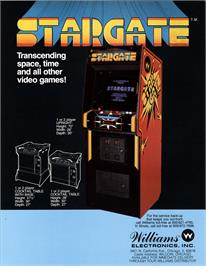Advert for Stargate on the Arcade.