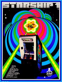 Advert for Starship 1 on the Arcade.