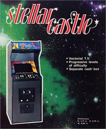 Advert for Stellar Castle on the Arcade.