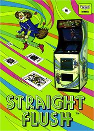 Advert for Straight Flush on the Arcade.