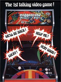 Advert for Stratovox on the Arcade.