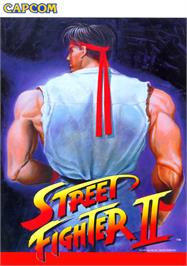 Advert for Street Fighter II: The World Warrior on the Arcade.