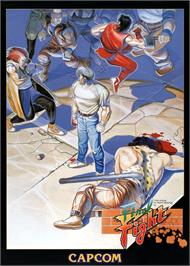 Advert for Street Smart / Final Fight on the Arcade.