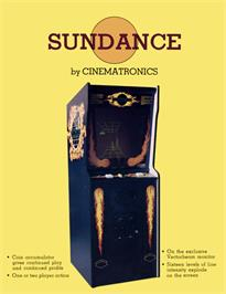 Advert for Sundance on the Arcade.