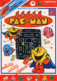Advert for Super Pac-Man on the Microsoft DOS.