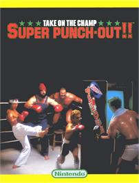 Advert for Super Punch-Out!! on the Arcade.