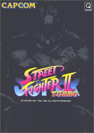 Advert for Super Street Fighter II Turbo on the Commodore Amiga CD32.