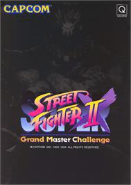 Advert for Super Street Fighter II X: Grand Master Challenge on the Arcade.