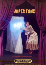 Advert for Super Tank on the Arcade.