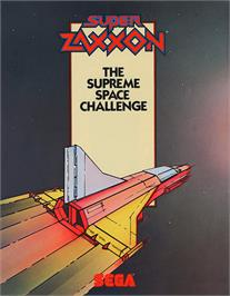 Advert for Super Zaxxon on the Arcade.