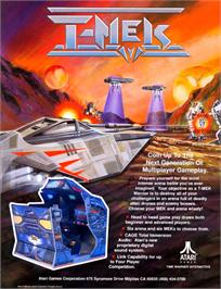 Advert for T-MEK on the Arcade.