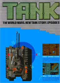Advert for T.A.N.K on the Arcade.