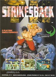 Advert for TH Strikes Back on the Arcade.