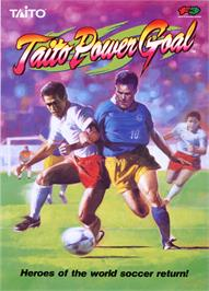 Advert for Taito Power Goal on the Arcade.