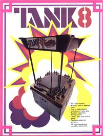 Advert for Tank 8 on the Arcade.
