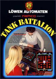 Advert for Tank Battalion on the Arcade.