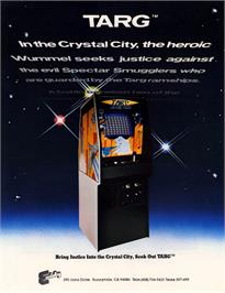 Advert for Targ on the Arcade.