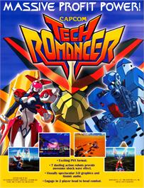 Advert for Tech Romancer on the Arcade.