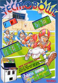 Advert for Tecmo Bowl on the Nintendo Arcade Systems.