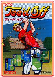 Advert for Tee'd Off on the Arcade.