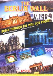 Advert for The Berlin Wall on the Arcade.