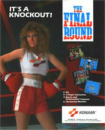 Advert for The Final Round on the Arcade.