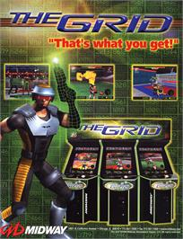 Advert for The Grid on the Arcade.