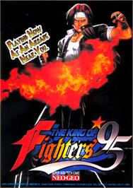 Advert for The King of Fighters '95 on the Arcade.
