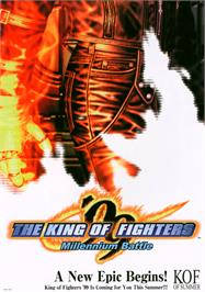 Advert for The King of Fighters '99 - Millennium Battle on the Arcade.