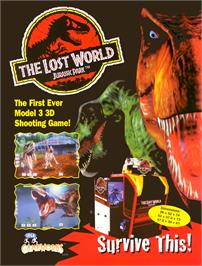 Advert for The Lost World on the Sega Model 3.