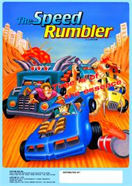 Advert for The Speed Rumbler on the Arcade.