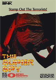 Advert for The Super Spy on the Arcade.