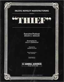 Advert for Thief on the Valve Steam.