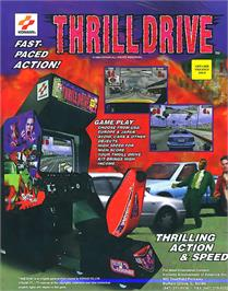 Advert for Thrill Drive on the Arcade.