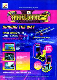 Advert for Thrill Drive 2 on the Arcade.