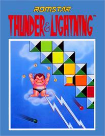 Advert for Thunder & Lightning on the Nintendo NES.