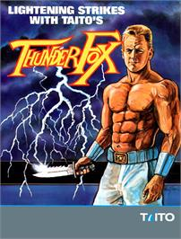 Advert for Thunder Fox on the Sega Nomad.