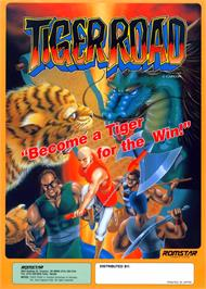 Advert for Tiger Road on the Arcade.