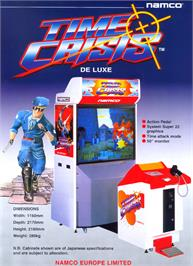 Advert for Time Crisis on the Arcade.