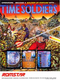 Advert for Time Soldiers on the Atari ST.
