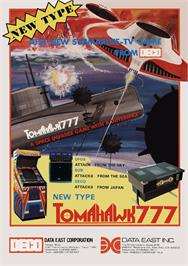 Advert for Tomahawk 777 on the Arcade.