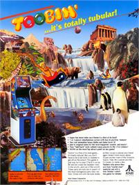 Advert for Toobin' on the Arcade.