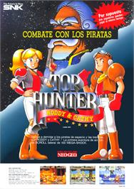 Advert for Top Hunter - Roddy & Cathy on the Arcade.