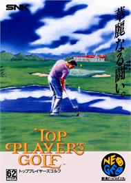 Advert for Top Player's Golf on the SNK Neo-Geo CD.